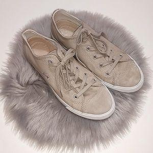 Lacoste | Beige Canvas Sneaker Shoes - 8.5